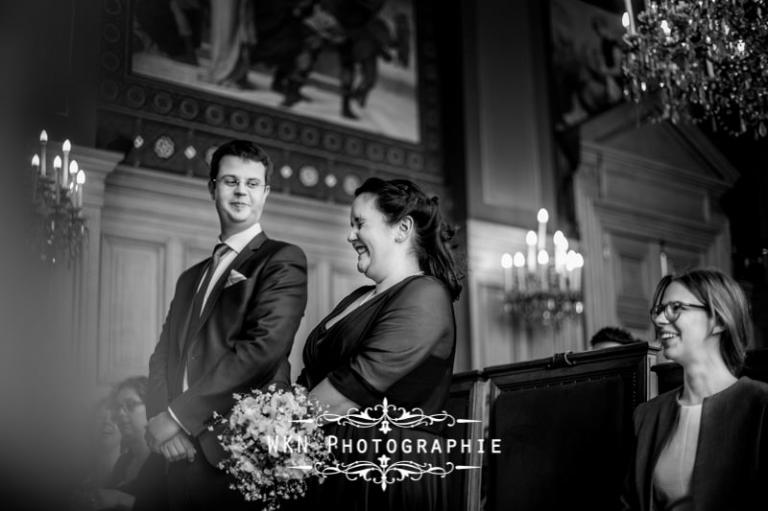 Photographe de mariage à la mairie du 13ème arromdissement à Paris