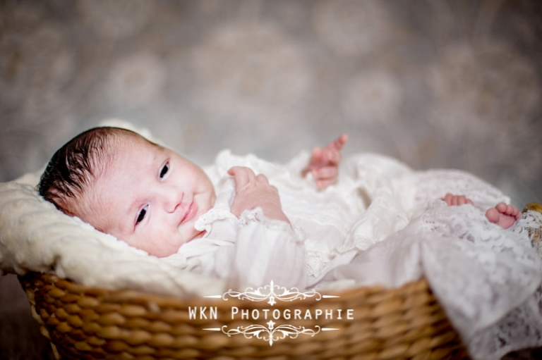 Photographe de nouveau-né sur Paris - seance photo en studio