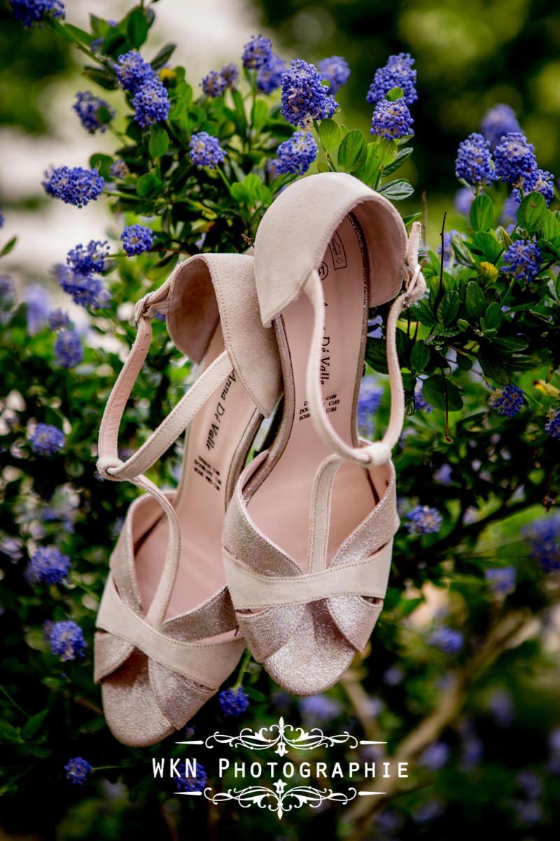 Photographe de mariage à Paris - détails de la tenue de la mariée