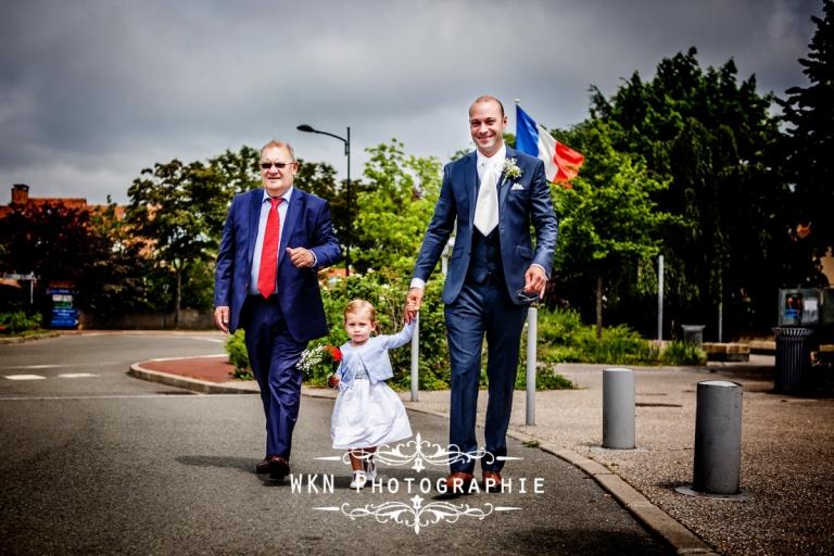 Photographe de mariage à Paris - le mariage civil a la mairie de Montigny le Bretonneux