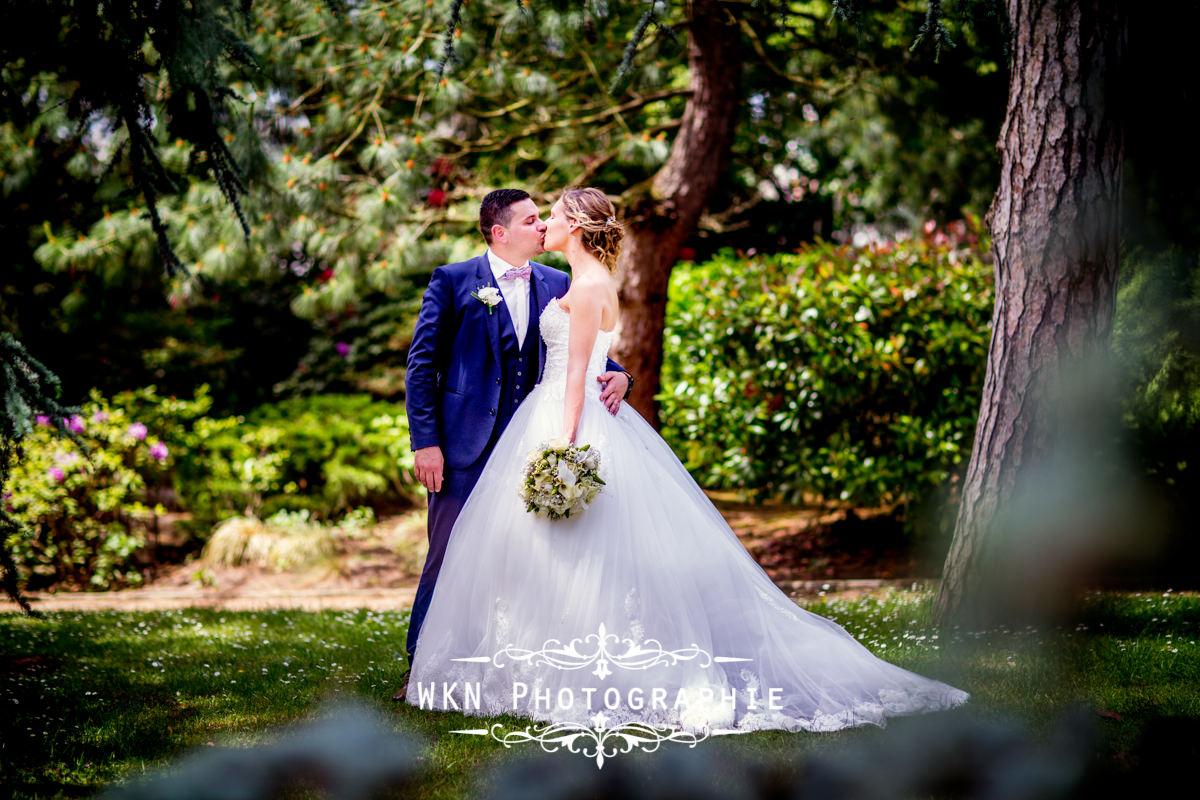 Photographe de mariage dans le Vexin - le premier regard