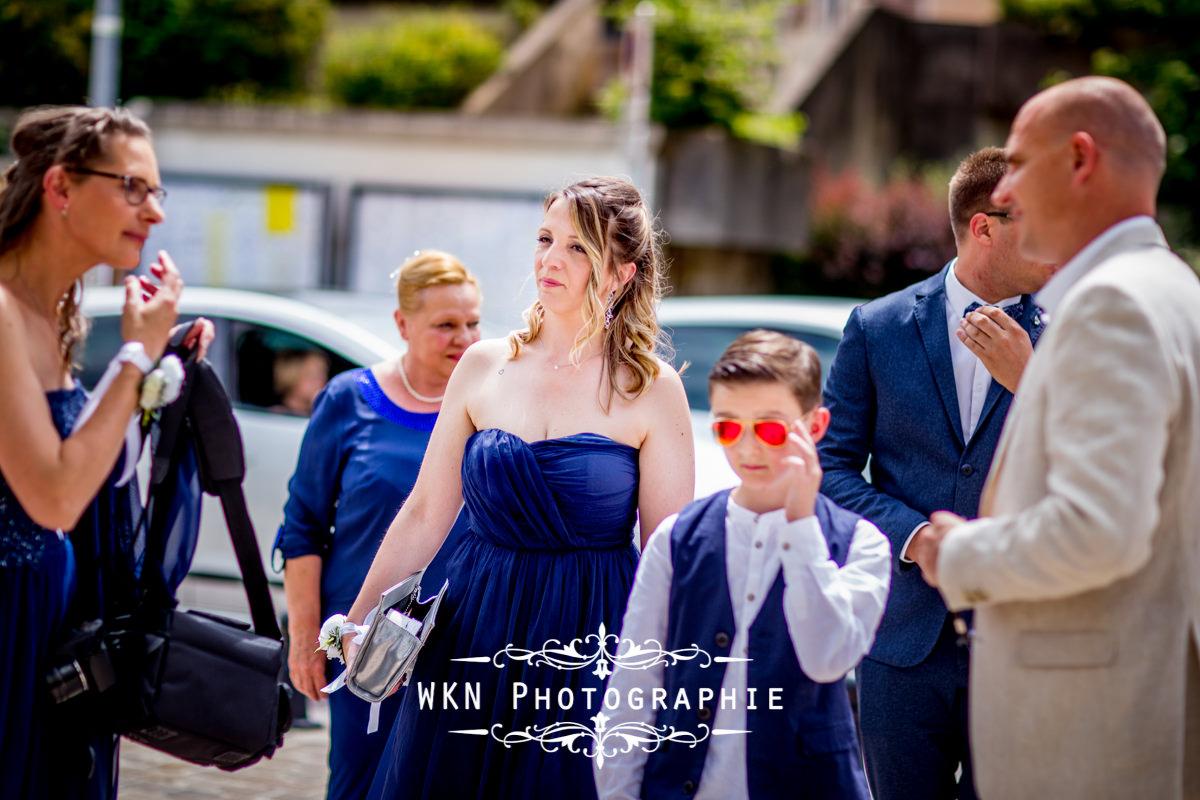 Photographe de mariage dans le Vexin - le mariage civil à la mairie de Groslay