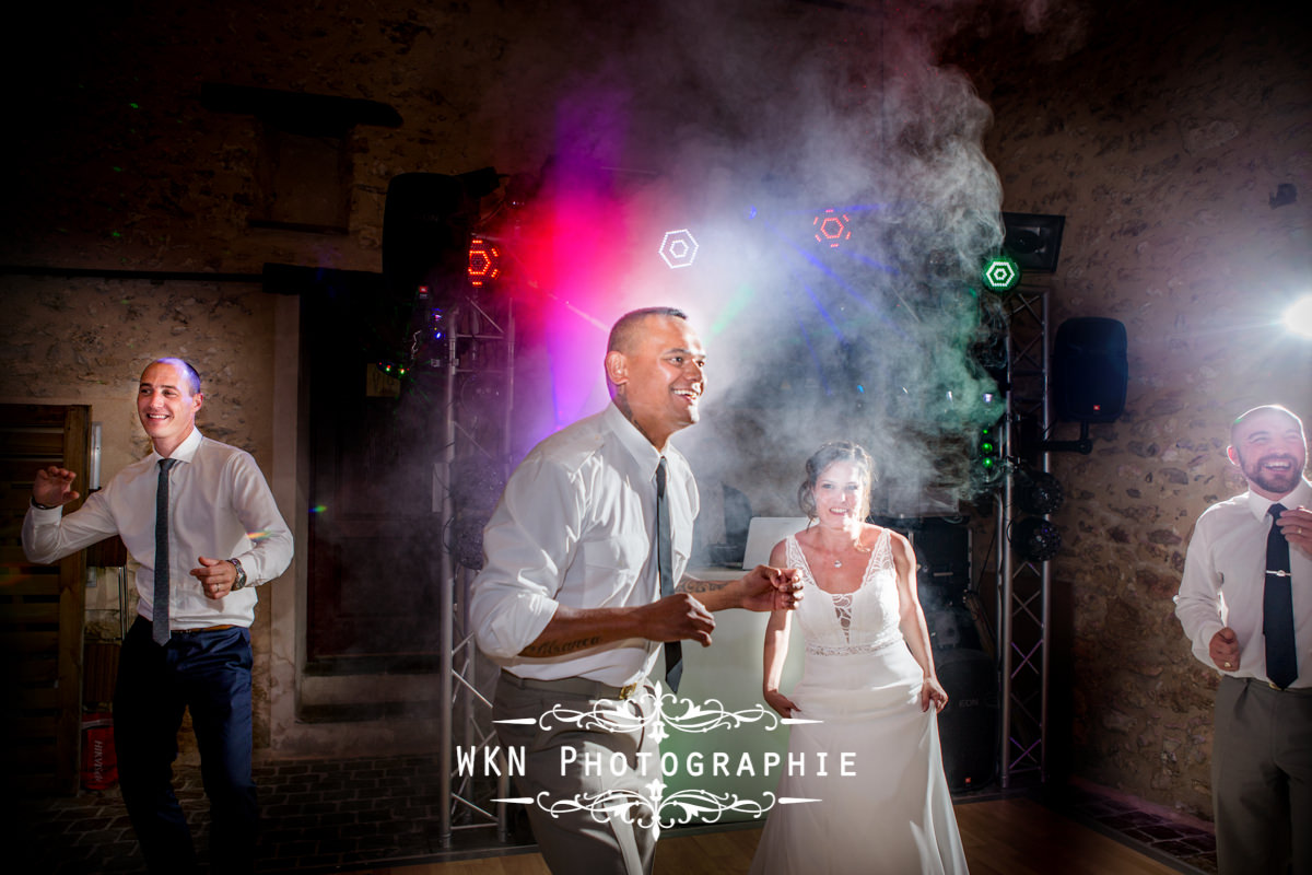 Photographe de mariage - récéption au domaine de la vallée aux pages