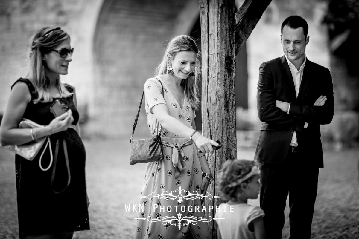 Photographe de mariage bourgogne - ceremonie laique au Clos de Vougeot