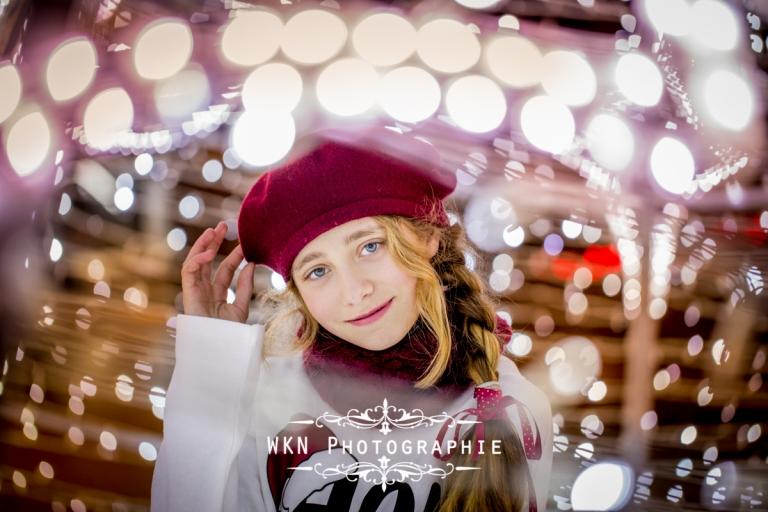 Shooting photo familial pour les fetes de Noel a Paris