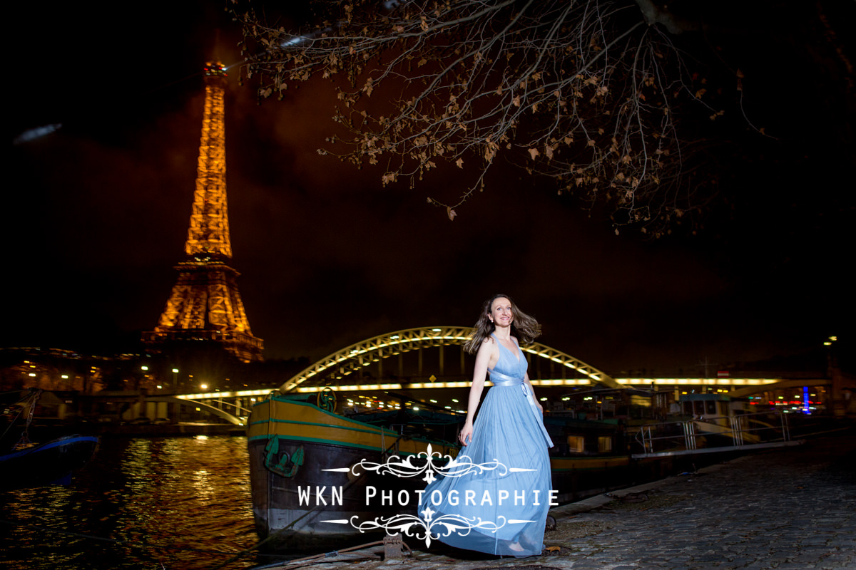 Photographe de mariage a Paris - seance photo de portraits en plein air