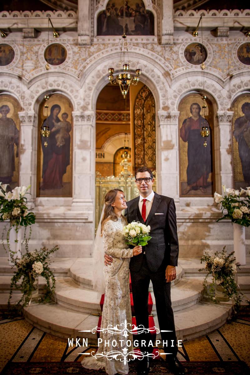 Photographe de mariage - ceremonie religieuse orthodoxe a Paris