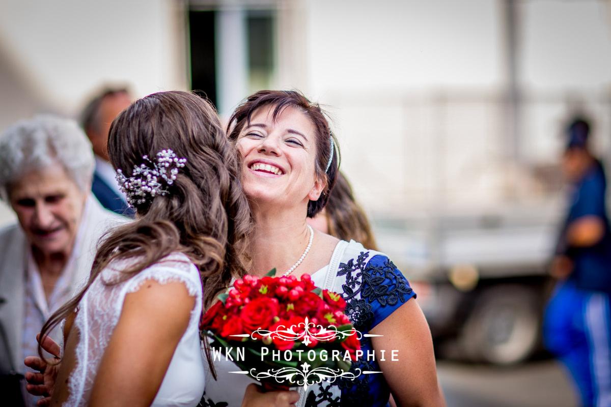Photographe de mariage à Paris - cérémonie civile à la mairie de Drancy