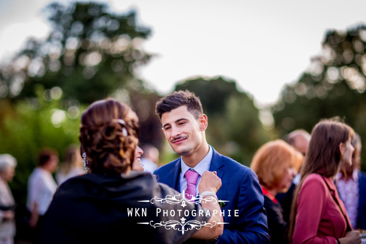 Photographe de mariage à Paris - cérémonie laique dans les jardins de la Vallee aux Pages