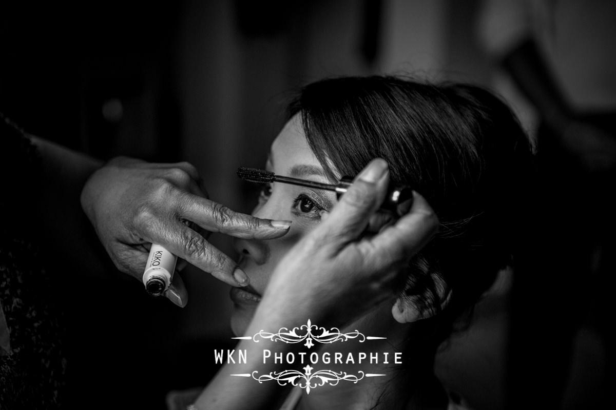 Photographe de mariage Chateau de Baronville - preparatifs de la mariee