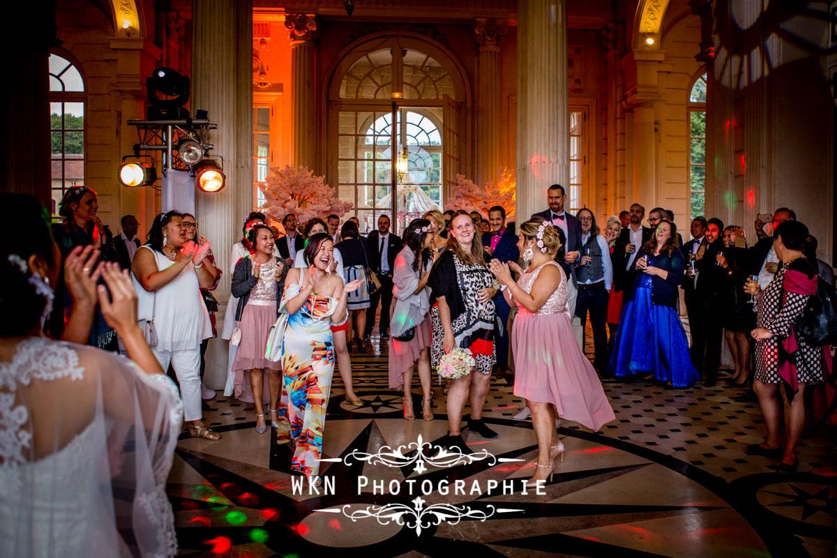 Mariage au chateau de Baronville