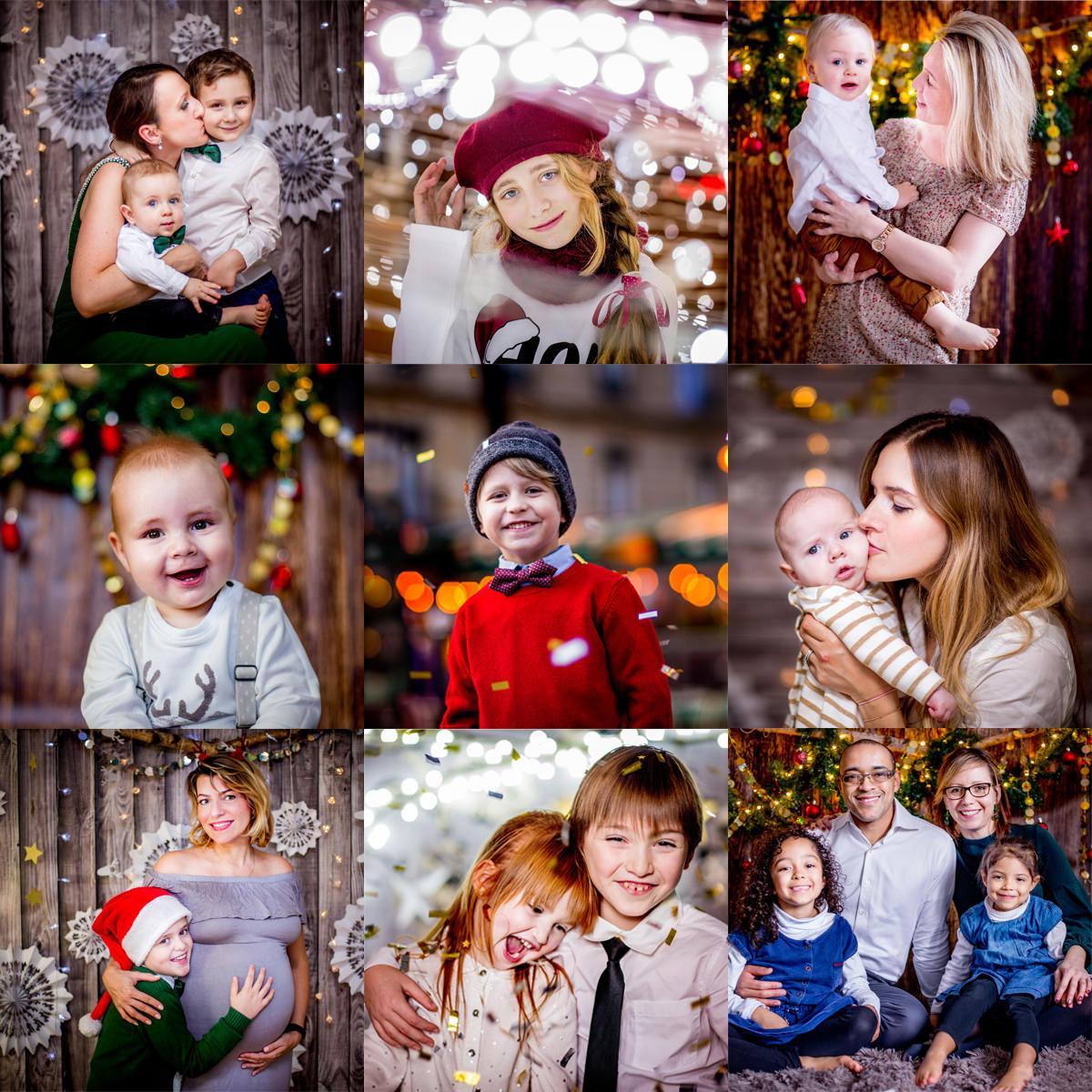 Photographe famille Paris - seance photo de Noel