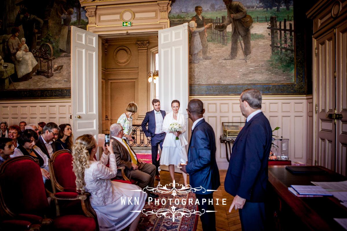 Anastasia Et Alexandre Mariage A La Mairie De 15eme